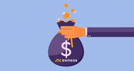 Exness 'de Para Çekerken herhangi bir Komisyon var mı? Her İş Ortağı Hesabı'nda Ödül nasıl hesaplanır?