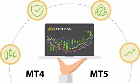 Exness'ten MT4 ve MT5 arasındaki fark