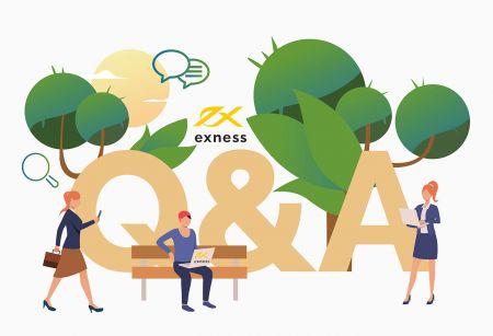 Exness Trading Terminallerinin Sıkça Sorulan Soruları (SSS)